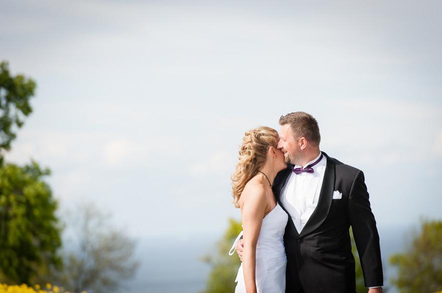 Bröllopsfotografering på Östelen