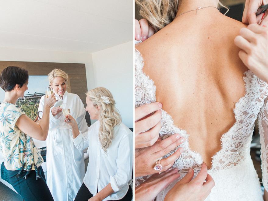 Bröllop på Tylösand. Rebecca Wallin 2016