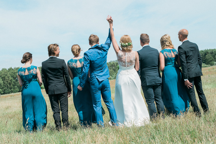 Bröllop på Österlen. Rebecca Wallin