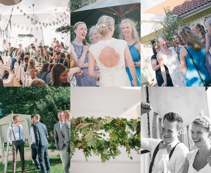 Bröllopsfotograf Rebecca Wallin, Folkets hus Bohus-Malmön