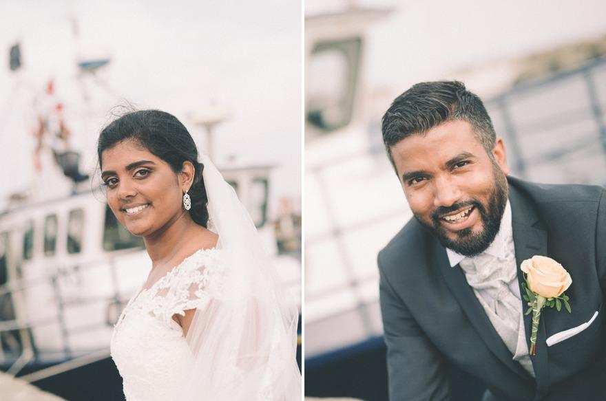 Skillinge hamn, bröllop
