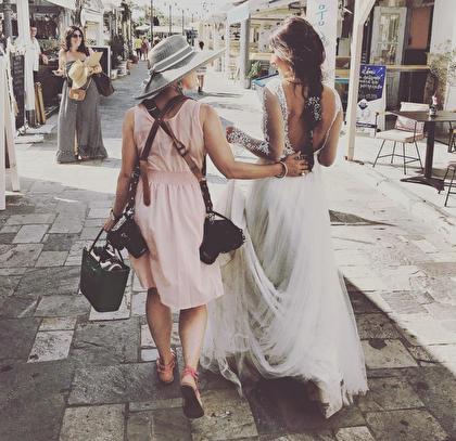 Me with stunning Marika in Naxos, Greece 2017.