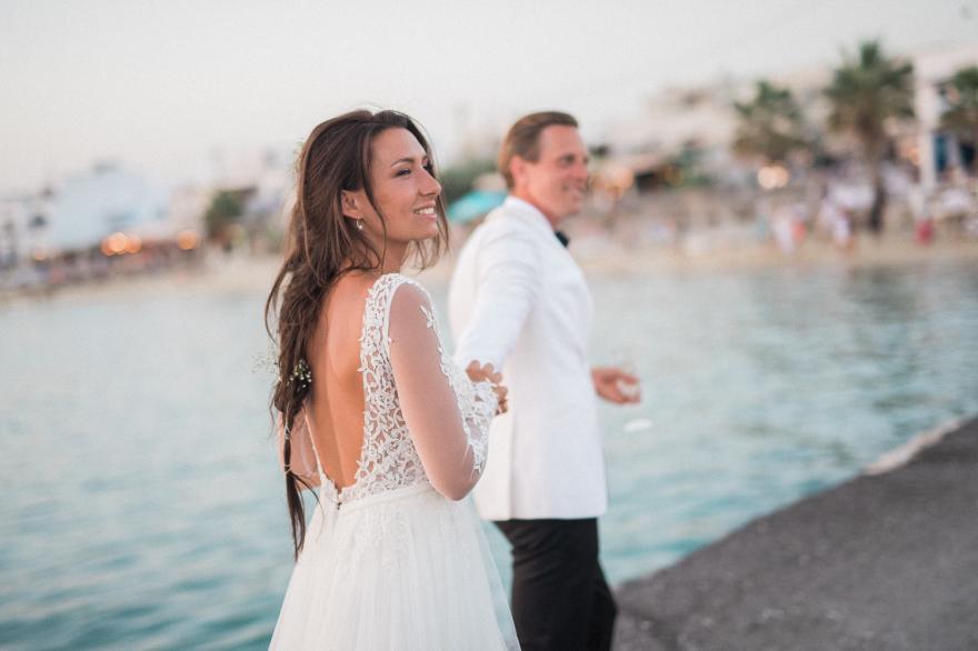 Destinationwedding at Naxos, Greece