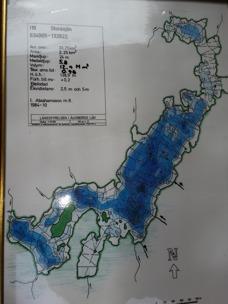 Djupkarta över Storasjön