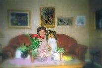 Min mamma Rosemarie och Ottey i våra yngre dagar