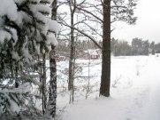 Lite snö även i år