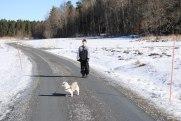 Vinterpromenad i Hyllingsund