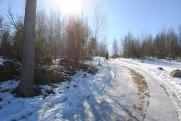 En skön och lite kylig promenad i vintersolen