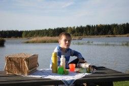 Slutet av September och picnic i hamnen