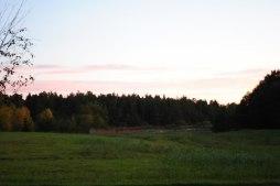 Solen går upp i Hyllingsund.