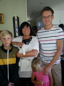 Bor hos Nina med familj i Uppsala