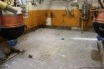 Bortfräst golvbeläggning ca 2cm