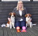 Två gånger BIR-hundar med stolt matte Lena!