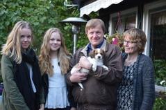 Kipper tog båten till Finland tillsammans med familjen Santamäki