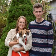 Ricky blev en Otto och hamnade i Halmstad hos Amanda och Daniel