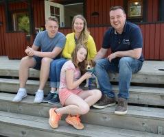 Ruben följde med familjen Asplund-Vikberg till Finspång