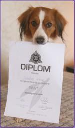 Kiras första diplom i NW1