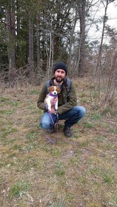Bessie fick flyga med Alex hem till resten av den väntande familjen i Luleå