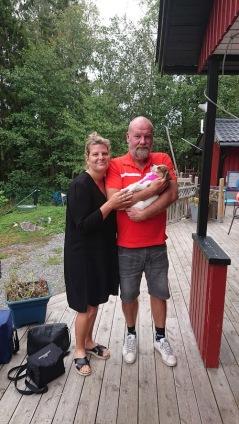Falun blir hemort för Bibbi hos  familjen  Lindström