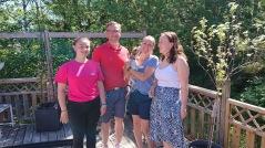 Helix började dela sin kärlek direkt med familjen Nordfeldt