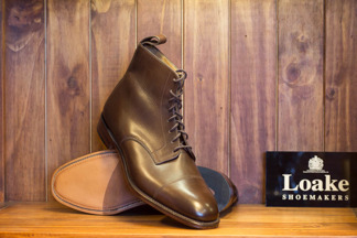 Derby Boot Brown Calf MTO