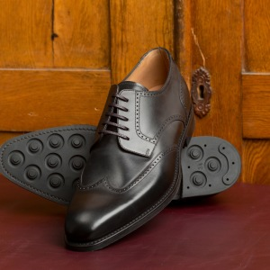 Loake Eden Black Calf