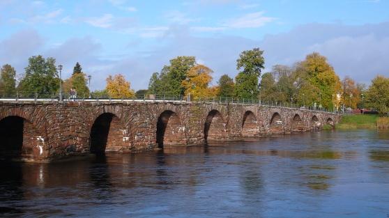 Östra Bron mellan Norrstrand och Haga i Karlstad