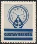 Frimärke med GB-logga