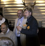 Host and president  ©  Rolf Eriksson 2005 ©  Rolf Eriksson 2005