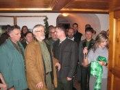 President Rolf opens hunting exhibition   © Carolynne Ellis-Jones 2009