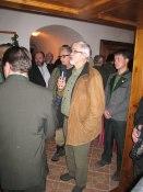 President Rolf thanks our host S.t Hubertus   © Carolynne Ellis-Jones 2009