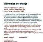Tranströmerprogram 2012
