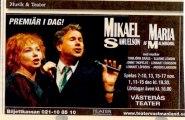 Mikael och Maria med Musiker
