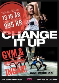 6 MÅN UNGDOMSKORT - 6 mån ungdomskort gym & gruppträning