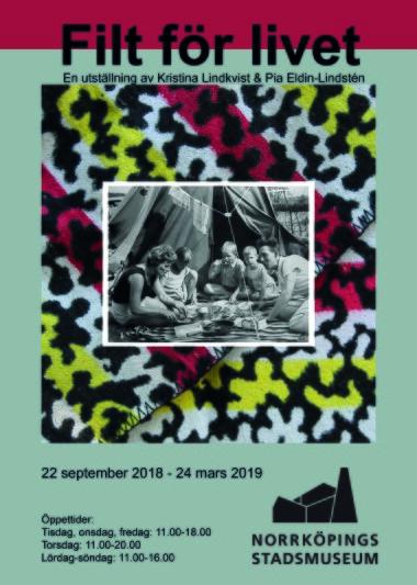 Ny utställning med vernissage 22 sep.2018.