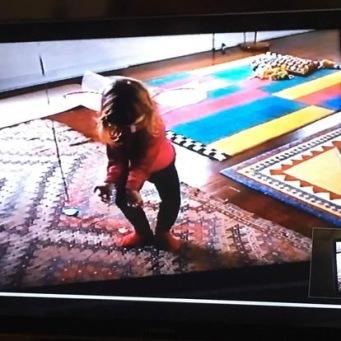 Handknuten matta från IKEA , är med in Netflixserien The fall, sista säsongen sista avsnittet.