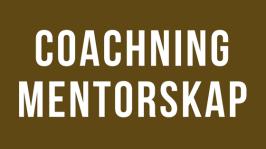 Coach och mentor