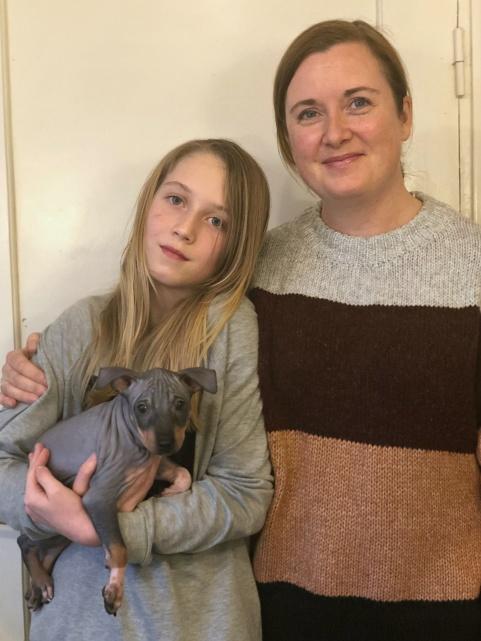 Diamond flyttade till familjen Trondheim i Norge i lördags.