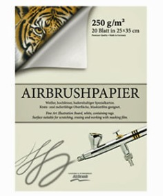 Airbrushpapper -