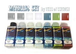 INSPIRE H2O METALLICS 50 ML - Metallic kit Inspire H20 50 ml*7