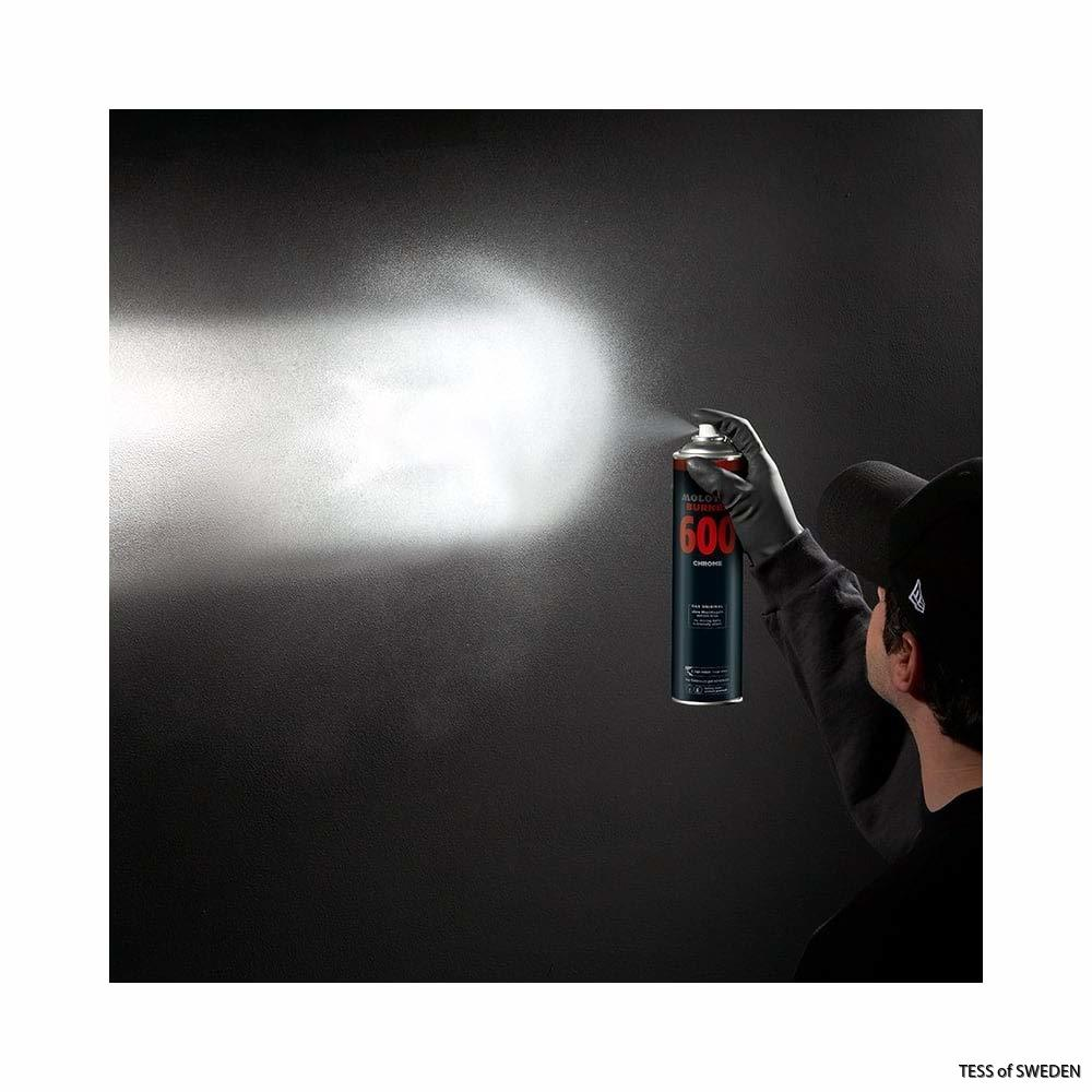 Molotow burner silver spray
