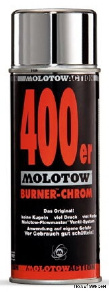 Molotoe burner chrome 400er
