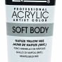 LIQUITEX ACRYLIC SOFT BODY - Naples yellow Hue t 59 ml