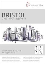 Airbrush Papper Hannemuhle Bristol - Airbrush papper A3 Hannemuhle