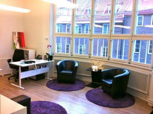 Ett av våra rum mot Eriksbergsgatan