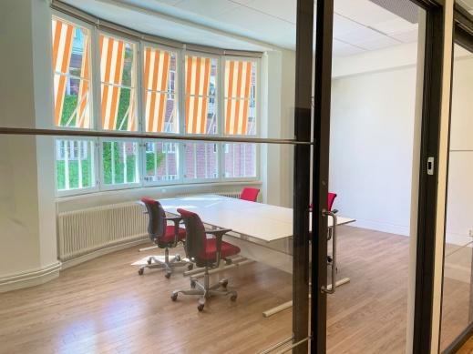 Ett av våra kontorsrum på 3 tr