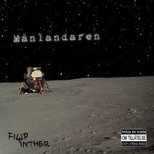 Månlandaren av Filip Winther. Musik. Hiphop, rap 2017. Svensk rappare.