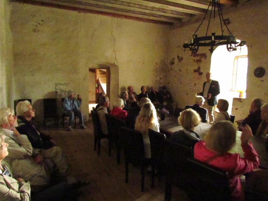 Anders af Heurlin presenterar sin gård från sent 1400-tal