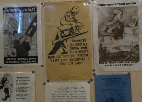 Propagandaaffischer på krigsmuseet