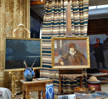 Ilja Repin, ett självporträtt